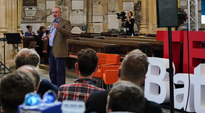 Bath TEDx – Will robots be our new best friends?